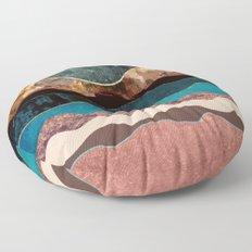Blush Moon Floor Pillow
