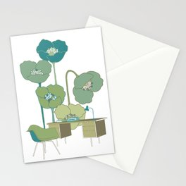 Desk & Chair #1 Stationery Cards