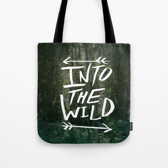 Into the Wild III Tote Bag