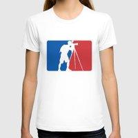 league T-shirts featuring Landscape League by Preston Lee Design