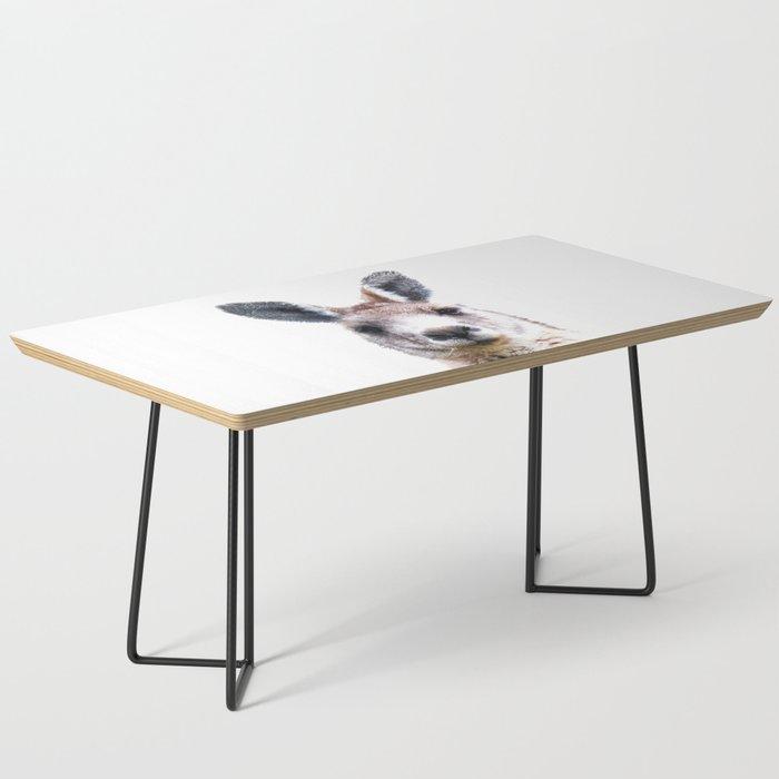 Kangaroo Portrait Coffee Table