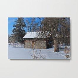 Peter Navarre Cabin II Metal Print