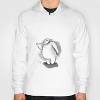 baymax Hoodies featuring BayMax by Cerys Edwards