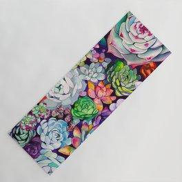 Succulent Garden Yoga Mat