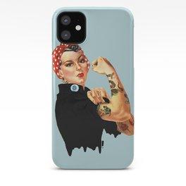 Tattooed Rosie the Riveter iPhone Case