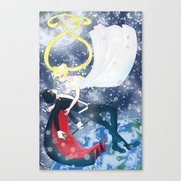 Moonlight Destiny Canvas Print