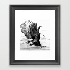 Soaring Eagle Framed Art Print