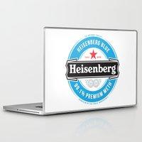 heisenberg Laptop & iPad Skins featuring Heisenberg by colourpie