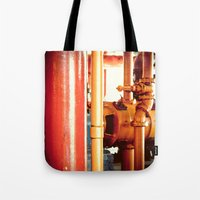 channel Tote Bags featuring Channel by Kiersten Marie Photography