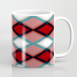 Diamond Pattern Design Coffee Mug