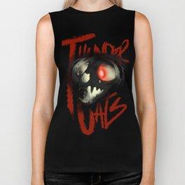 the thunder skull Biker Tank