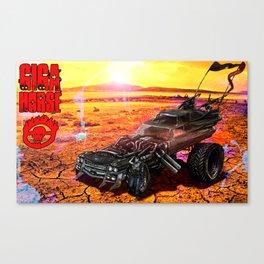 Giga Horse Canvas Print