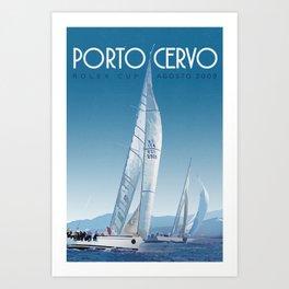 Porto Cervo Art Print