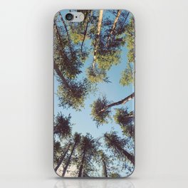 look up & GET LOST iPhone Skin