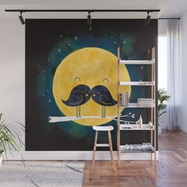 Moonstache Wall Mural