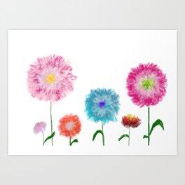 Cipa Spring flowers in Bloom  Art Print