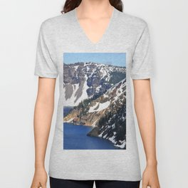 CRATER LAKE - 1 Unisex V-Neck