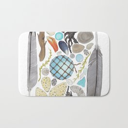 Coastal Treasures Bath Mat