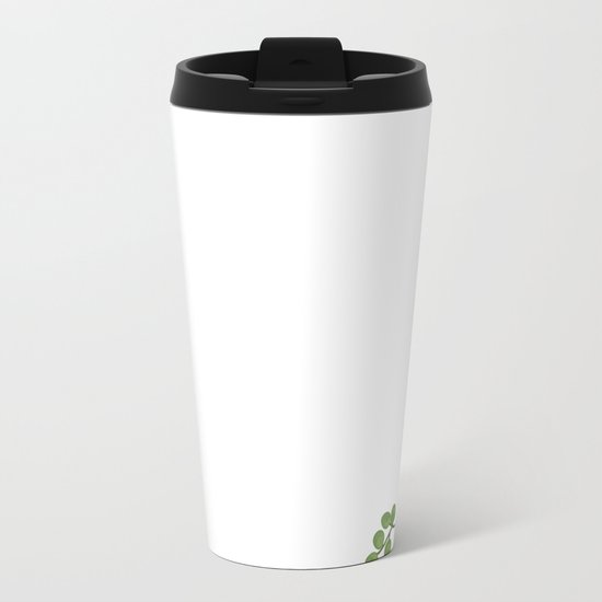Nature flower 4 Metal Travel Mug
