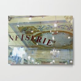 Confiserie Window Metal Print