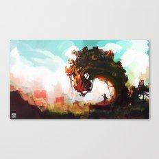 Borderline Canvas Print