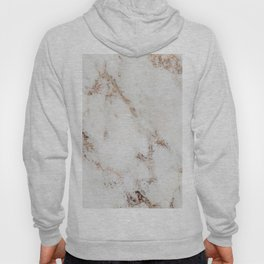 Artico marble - rose gold accents Hoody