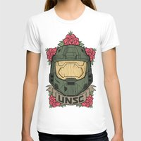 halo T-shirts featuring Halo UNSC by Daniel Mackey