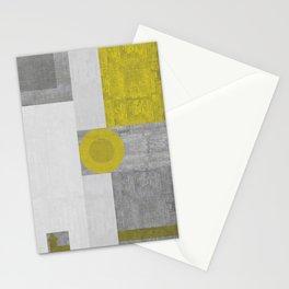 Modernist Distressed Stationery Cards