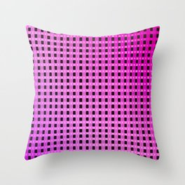Small and little evening pattern Throw Pillow