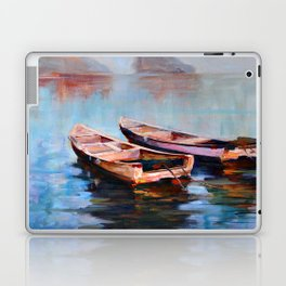 Two boats Laptop & iPad Skin