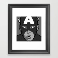 The secret life of heroes - Photobooth2-3 Framed Art Print