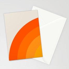 Sunrise Rainbow - Left Side Stationery Cards