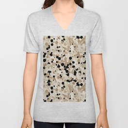 Pattern Dots Unisex V-Neck