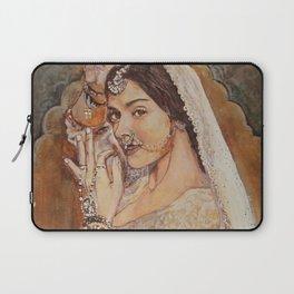Painting Bollywood portrait Laptop Sleeve