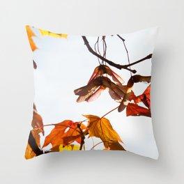 Autumn Sonata I Throw Pillow