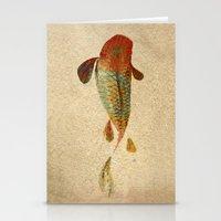 koi Stationery Cards featuring Mystic Koi by Fernando Vieira