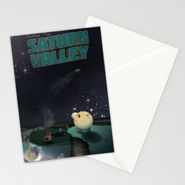 Earthbound - Greetings From Saturn Valley Stationery Cards