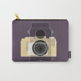 Camera History - yellow Carry-All Pouch