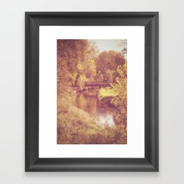 The beautiful changes Framed Art Print