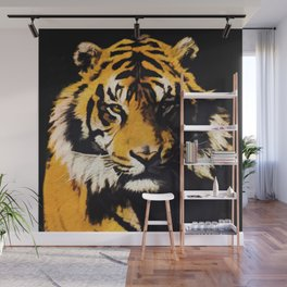 Tiger, Tiger - Big Cat Art Design Wall Mural