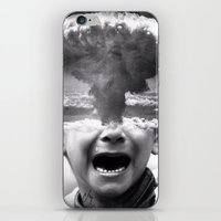 war iPhone & iPod Skins featuring War by Cash Mattock