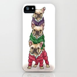 Lilly, Nikko, Mae Ling iPhone Case