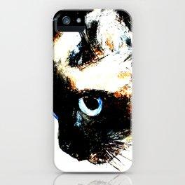 Siamese Cat 2015 edit iPhone Case