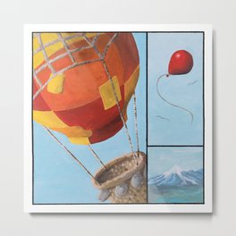 Who's Flying This Thing? Metal Print