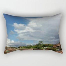 Antennas and Clouds Rectangular Pillow