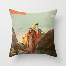 You Will Find Me There Throw Pillow