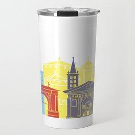 Aosta skyline pop Travel Mug