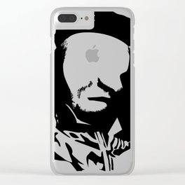 Inspired by Che Guevara Part of the vacant expression series Clear iPhone Case