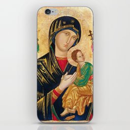 Our Mother of Perpetual Help Virgin Mary iPhone Skin