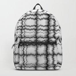 jagged, b&w Backpack